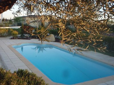 Photo for Bastide with pool and a beautiful Mediterranean garden in Montpellier