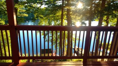 Photo for Magical Lakefront Home on Forest Lake