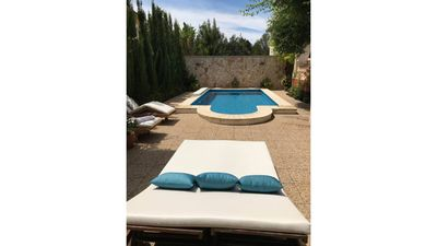 Photo for Villa l'auba with Pool, barbecue, patio, barbecue, in Balearic Islands