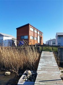 Photo for Waterfront on Potter Salt Pond steps from East Matunuck State Beach!
