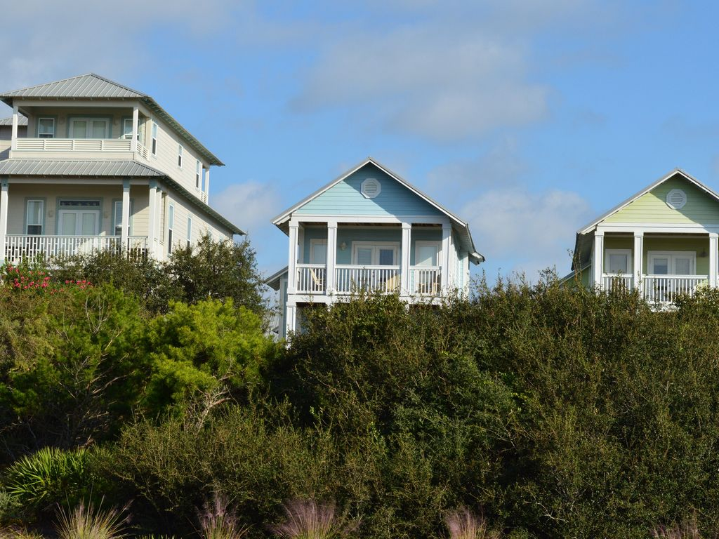 Beautiful Gulf Views In Cottages Of Camp Creek Home