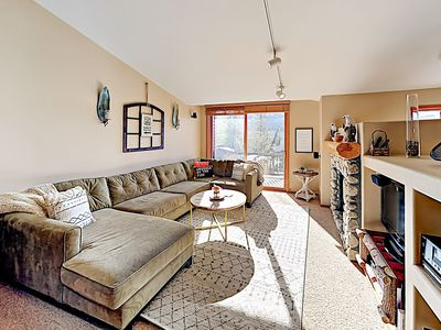 Photo for New Listing! Updated Condo w/ Hot Tub & Mountain Views, Near Lifts