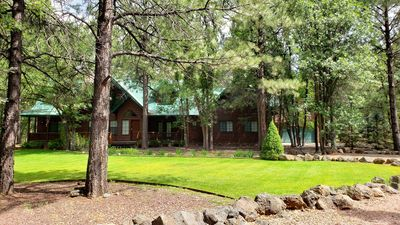 Photo for Group Retreat Cabin Secluded on 3 Acres