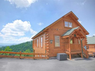Photo for Hillbilly Highrise | Majestic Mountain Views | WiFi | Pool Table | Hot Tub | Close to Dollywood