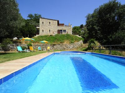 Photo for Villa Krios! Ecotourism, Amazing pool & garden! Absolute Peace among nature!