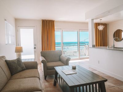 Photo for Ocean Front Suites - Huge Beachfront Patio - 4 Units Available (4003 Upstairs)