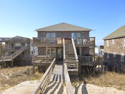 Photo for Oceanfront South Nags Head:  Lots of living space, Ocean Views!