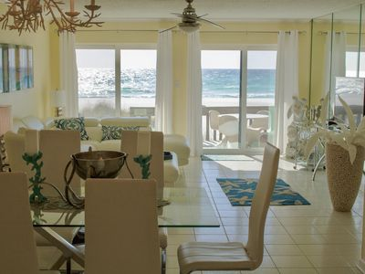 Photo for Largo Mar #103, Modern 3 bedroom, Directly on Beach, Pool, Spa, WiFi, Must See.