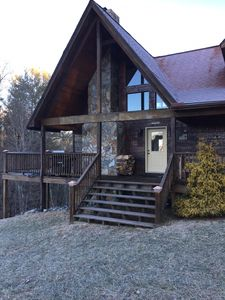 Photo for Mountain Cabin located in a gated community, within walking distance to river.