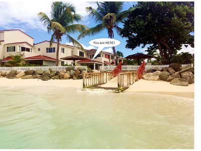 Photo for LITTLE BAY VILLA, 40 STEPS FROM THE CARIBBEAN SEA!