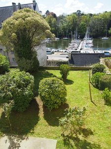 Photo for apartment overlooking garden and sailboats