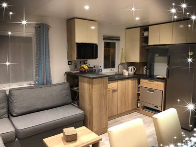 Photo for Mobilhome of 2018 camping 4 stars shaded and great location