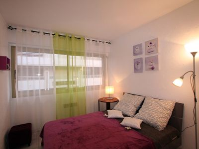 Photo for 2 minutes from the beach on foot, nice 2 rooms, very quiet area.