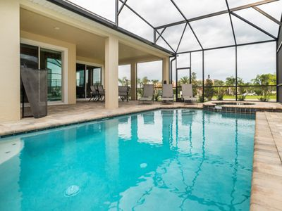 Photo for Brand New House And Resort, Amazing Free Amenities, Delicious On Site Restaurant, Private Pool/Spa, Minutes To Disney!