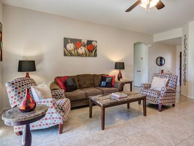 Photo for Lemon Twist Townhome - Just Steps from a Pool! and covered patio, Mountain Views Next to Pool - B...