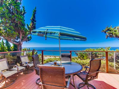 Oceanfront WhiteWater Views-- Heated Pool & Spa--Best Sunset Cliffs Location