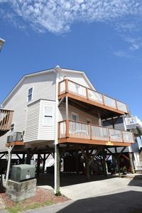 Photo for Oceanview 1171 7 Bedrooms/3 baths! 2nd House back, only steps to the beach!