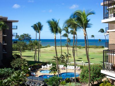 Photo for Tropical Getaway -Deluxe Oceanfront Condo - Amazing Ocean View Free Wifi/Parking