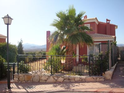 Photo for 4 Bed, 3 Bath, Detached Villa sleeping up to 8 people with private pool & garden