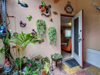 Photo for Waterfront, garden-entry condo only steps to Hollywood Beach - Snowbirds welcome