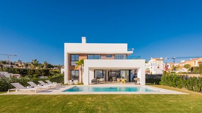 Photo for Exclusive villa in the New Golden Mile, close to Puerto Banus and Marbella.