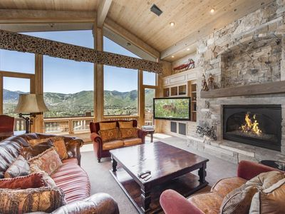 Photo for Tricked out 5-bedroom estate features the best views and toys in all of Park City