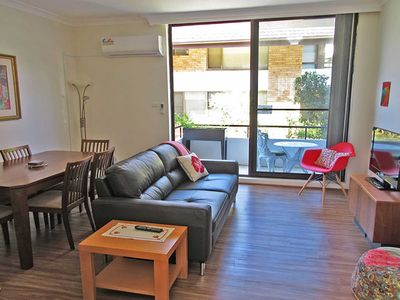 Photo for 4 'Bellevue' 4 Donald Street - air conditioned apartment in the heart of Nelson Bay