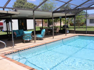 Photo for Affordable 3 Bedroom Pool Home, If You Came For The Sunshine This Is It!