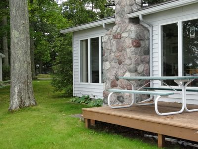 Photo for Lake Front Home On Green Lake-Interlochen