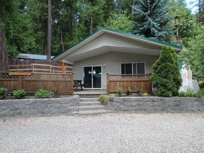 Photo for The Hideaway Is A Cozy Cabin At Blind Bay Hideaway On Beautiful Sunny Shuswap