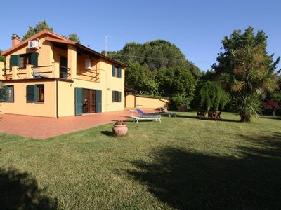 Photo for Luscious villa&gardens by Maremma Park, Orbetello, Talamone, couples 10% off