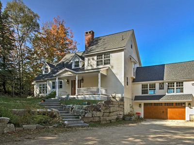 Photo for Jackson Home w/ Yard & Hot Tub in White Mountains!