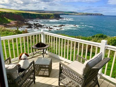 Photo for Luxury Lodge with Stunning Sea-views - Pet Friendly