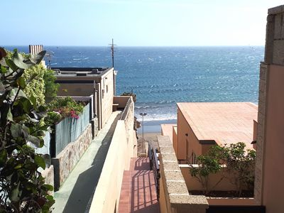 Photo for Lovely apartment with terrace and seaviews in el Medano