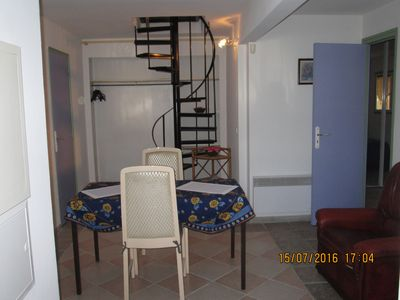 Photo for 2 rooms on the ground floor of a villa