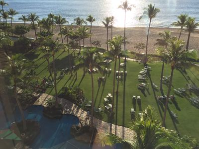 Photo for Studio Ocean Front Available in January  2019 at the Marriott Maui Ocean Club