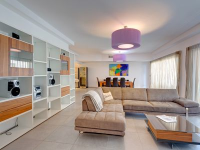 Photo for Seaview Apartment In Fort Cambridge, Sliema