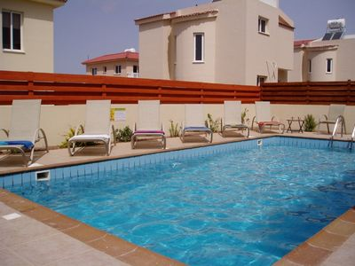 Photo for Fantastic 2 bedroom villa 5 minutes walk from Nissi beach with private pool