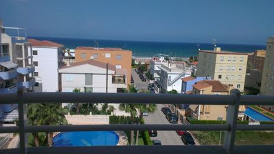 Photo for Penthouse Apt with Private Roof Terrace & 360 Degree Sea & Mountain Views ...