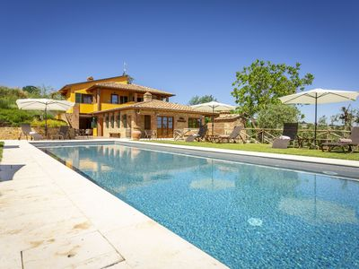 Photo for Montaione Villa, Sleeps 12 with Pool and Air Con