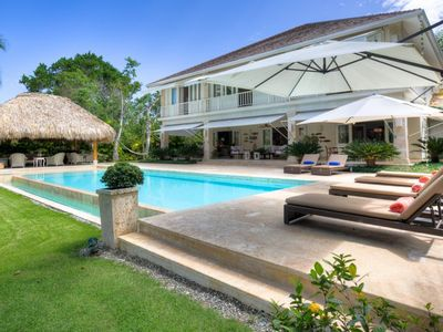 Photo for Luxury 4 bedroom villa with own private swimming pool located in the exclusive Punta Cana resort