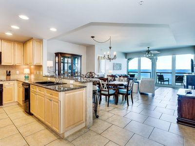 Photo for Serene Luxury - Spacious 2 Bedroom Condo at resort with Beach Access, Shared Pools, Spa and more