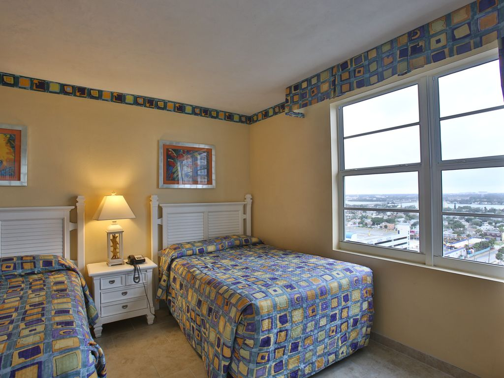 Beautiful 2 bedroom ocean front on the 15th floor wyndham ocean walk resort daytona beach for 2 bedroom hotel suites in daytona beach