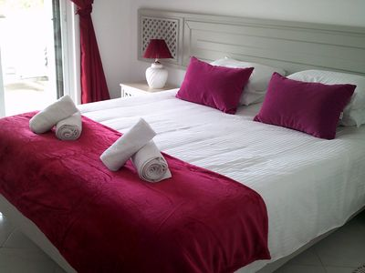 Photo for South facing 2 Bedroom 2 Bathroom Apartment with Wifi, Live UK TV & Air Con