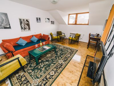 Photo for Authentic Apartment at BEST LOCATION-FREE PARKING