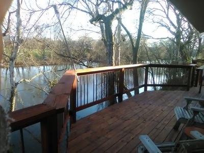 Photo for River Front Property with Kayaking, canoeing and Fishing Available!