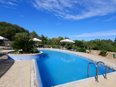 Photo for LARGE POPULAR HOUSE - TV, Wifi, AC, BBQ, Sun Deck, Private Pool, Close to Beach