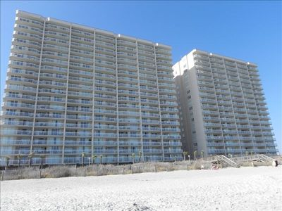 Photo for ~Crescent Shores OCEANFRONT Amazing View 18th Floor 4bdrm 4bth ~