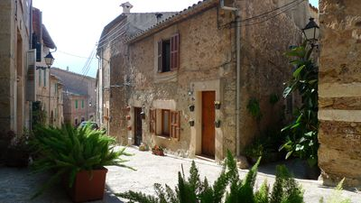 Photo for House in Valldemossa center, 5 people, private roof terrace, outstanding views