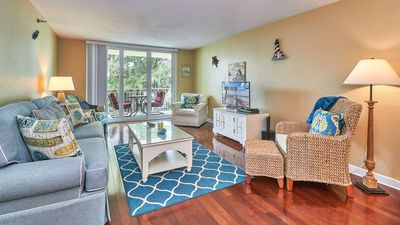 Photo for Amazing Sunsets - updated kitchen and baths spacious layout. Walk to restaurants